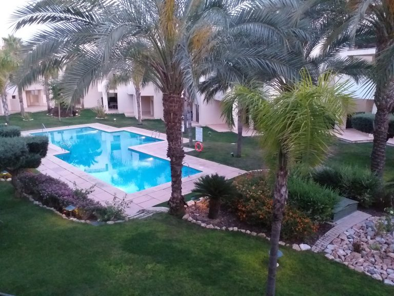 Pool from Apartment