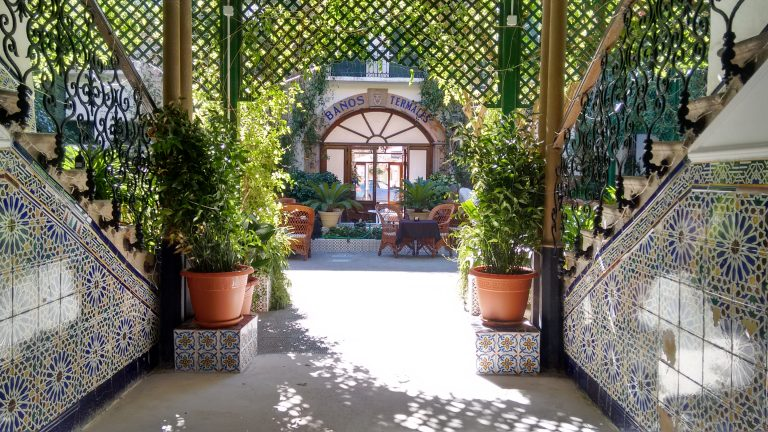 Encarnación Courtyard