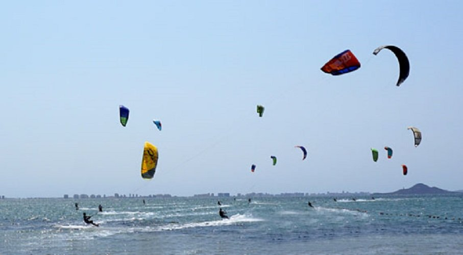 Piso Pomsol @ Roda Golf - Kite Surfing at Los Narejos