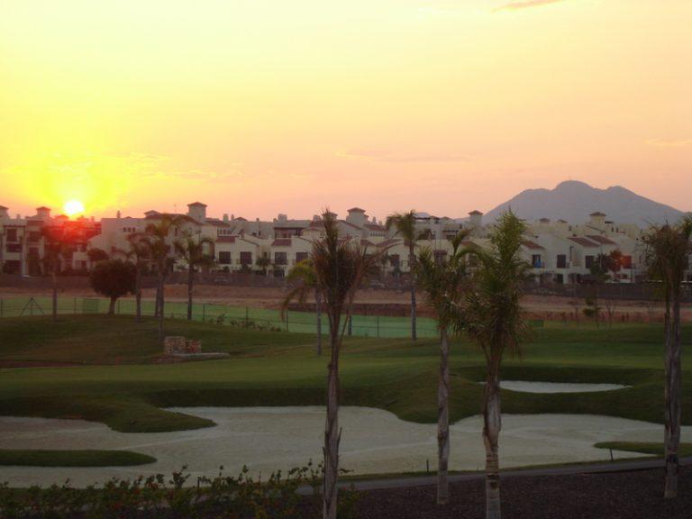 Sunset over Roda